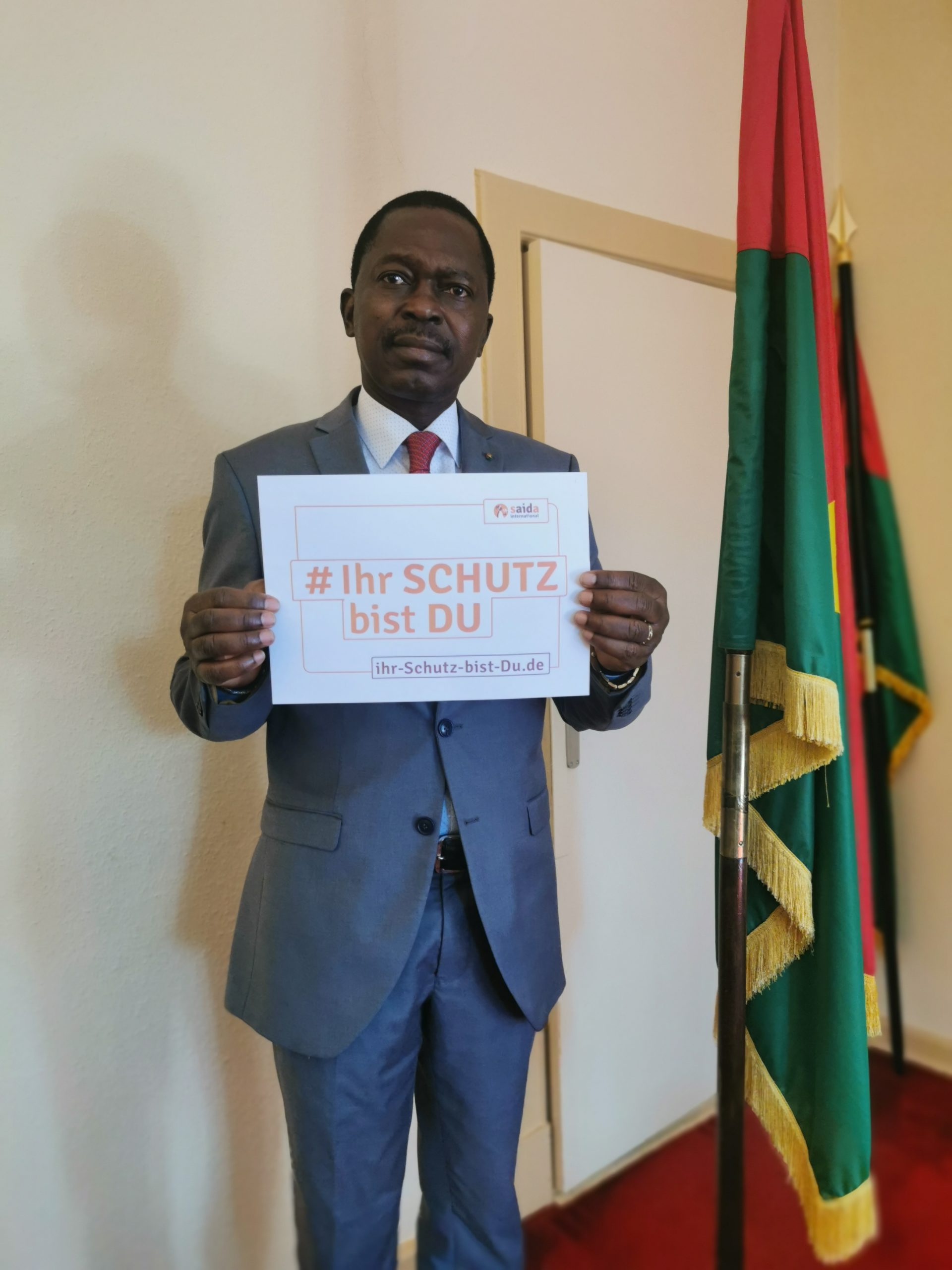 Simplice H. Guibila, Botschafter Burkina Faso